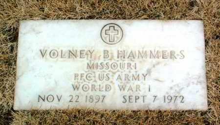 HAMMERS, VOLNEY B. - Yavapai County, Arizona | VOLNEY B. HAMMERS - Arizona Gravestone Photos