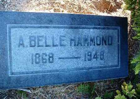 HAMMOND, ALICE BELLE - Yavapai County, Arizona | ALICE BELLE HAMMOND - Arizona Gravestone Photos