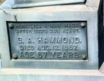 HAMMOND, GEORGE A. - Yavapai County, Arizona | GEORGE A. HAMMOND - Arizona Gravestone Photos