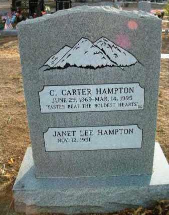 HAMPTON, CHARLES CARTER - Yavapai County, Arizona | CHARLES CARTER HAMPTON - Arizona Gravestone Photos