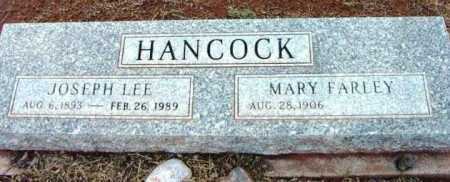 HANCOCK, MARY DORTHULIA - Yavapai County, Arizona | MARY DORTHULIA HANCOCK - Arizona Gravestone Photos