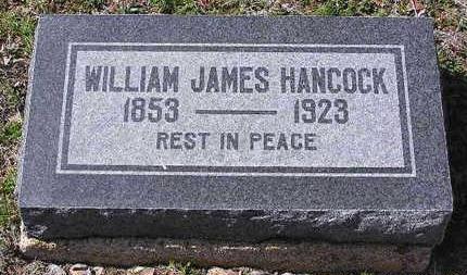 HANCOCK, WILLIAM JAMES - Yavapai County, Arizona | WILLIAM JAMES HANCOCK - Arizona Gravestone Photos