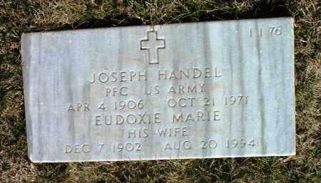 HANDEL, EUDOXIE MARIE - Yavapai County, Arizona | EUDOXIE MARIE HANDEL - Arizona Gravestone Photos