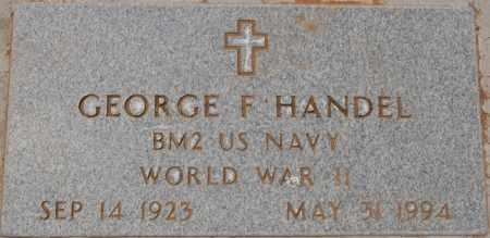 HANDEL, GEORGE F. - Yavapai County, Arizona | GEORGE F. HANDEL - Arizona Gravestone Photos