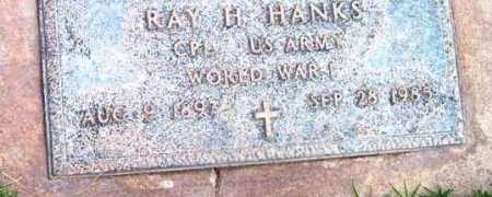 HANKS, RAY H. - Yavapai County, Arizona | RAY H. HANKS - Arizona Gravestone Photos