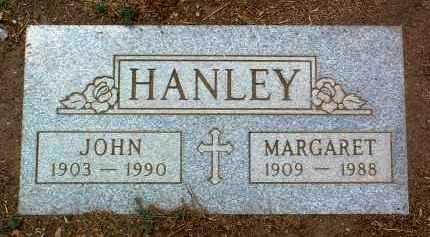 HANLEY, JOHN - Yavapai County, Arizona   JOHN HANLEY - Arizona Gravestone Photos
