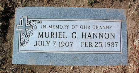 HANNON, MURIEL GRACE - Yavapai County, Arizona | MURIEL GRACE HANNON - Arizona Gravestone Photos