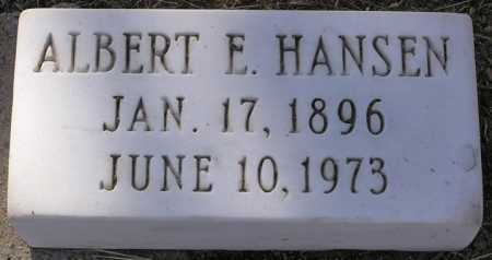 HANSEN, ALBERT E. - Yavapai County, Arizona | ALBERT E. HANSEN - Arizona Gravestone Photos