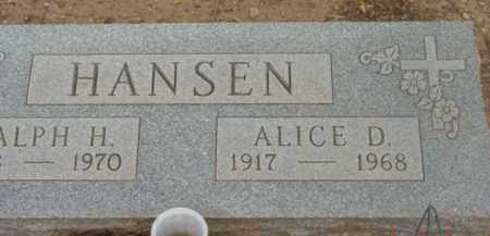 HANSEN, ALICE DAWN - Yavapai County, Arizona | ALICE DAWN HANSEN - Arizona Gravestone Photos