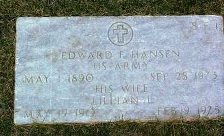 HANSEN, LILLIAN L. - Yavapai County, Arizona | LILLIAN L. HANSEN - Arizona Gravestone Photos