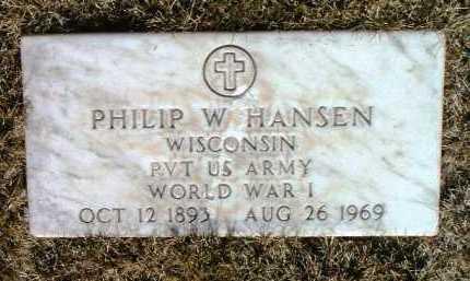HANSEN, PHILIP WALTER - Yavapai County, Arizona | PHILIP WALTER HANSEN - Arizona Gravestone Photos