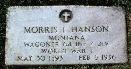 HANSON, MORRIS THEDFORD - Yavapai County, Arizona   MORRIS THEDFORD HANSON - Arizona Gravestone Photos