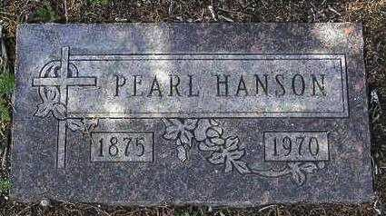 WILSON HANSON, PEARL CECLIA - Yavapai County, Arizona | PEARL CECLIA WILSON HANSON - Arizona Gravestone Photos