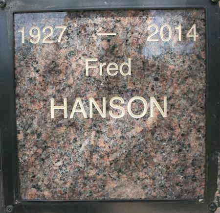 HANSON, FRED - Yavapai County, Arizona | FRED HANSON - Arizona Gravestone Photos