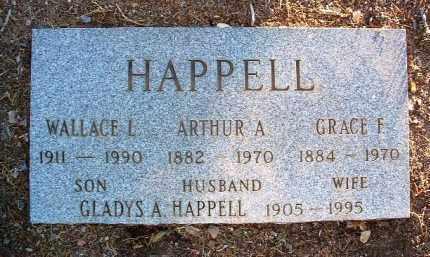 HAPPELL, GLADYS A. - Yavapai County, Arizona | GLADYS A. HAPPELL - Arizona Gravestone Photos