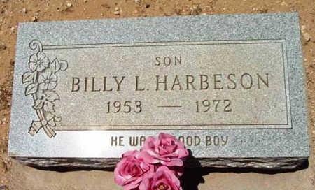 HARBESON, BILLY LYNN - Yavapai County, Arizona | BILLY LYNN HARBESON - Arizona Gravestone Photos
