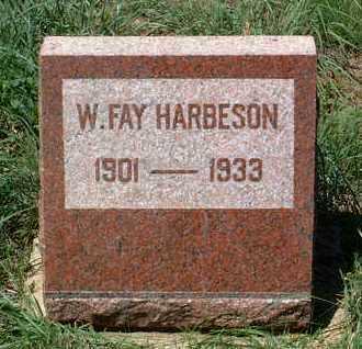 HARBESON, WOODFORD FAY - Yavapai County, Arizona | WOODFORD FAY HARBESON - Arizona Gravestone Photos