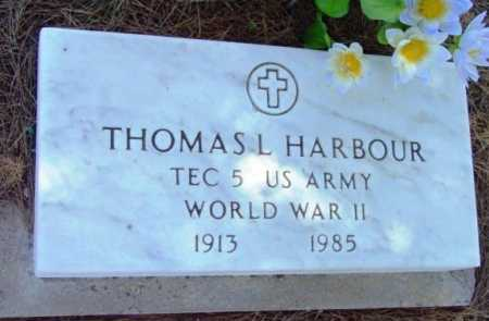 HARBOUR, THOMAS L. - Yavapai County, Arizona | THOMAS L. HARBOUR - Arizona Gravestone Photos