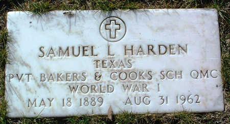 HARDEN, SAMUEL L. - Yavapai County, Arizona | SAMUEL L. HARDEN - Arizona Gravestone Photos
