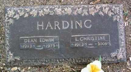 HARDING, DEAN EDWIN - Yavapai County, Arizona | DEAN EDWIN HARDING - Arizona Gravestone Photos