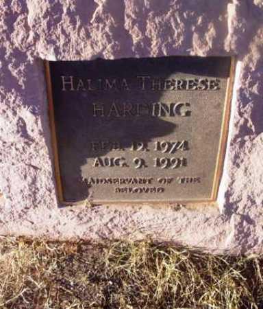 HARDING, HALIMA THERESE - Yavapai County, Arizona | HALIMA THERESE HARDING - Arizona Gravestone Photos