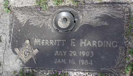 HARDING, MERRITT FAY - Yavapai County, Arizona | MERRITT FAY HARDING - Arizona Gravestone Photos