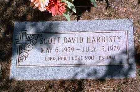 HARDISTY, SCOTT DAVID - Yavapai County, Arizona   SCOTT DAVID HARDISTY - Arizona Gravestone Photos