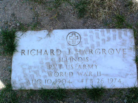HARGROVE, RICHARD J. - Yavapai County, Arizona | RICHARD J. HARGROVE - Arizona Gravestone Photos