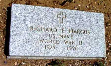 HARGUS, RICHARD EVERETT - Yavapai County, Arizona | RICHARD EVERETT HARGUS - Arizona Gravestone Photos