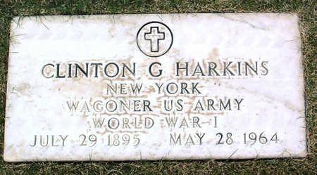 HARKINS, CLINTON  G. - Yavapai County, Arizona   CLINTON  G. HARKINS - Arizona Gravestone Photos