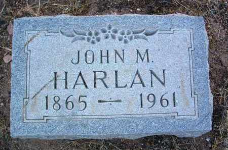 HARLAN, JOHN M. - Yavapai County, Arizona | JOHN M. HARLAN - Arizona Gravestone Photos