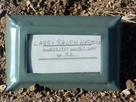 HARMON, LARRY RALPH - Yavapai County, Arizona | LARRY RALPH HARMON - Arizona Gravestone Photos