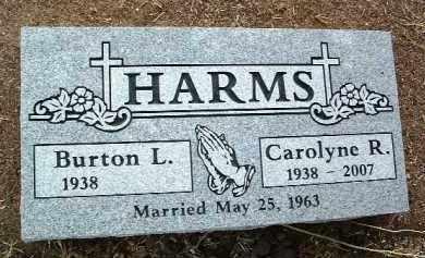 HARMS, CAROLYNE R. - Yavapai County, Arizona | CAROLYNE R. HARMS - Arizona Gravestone Photos