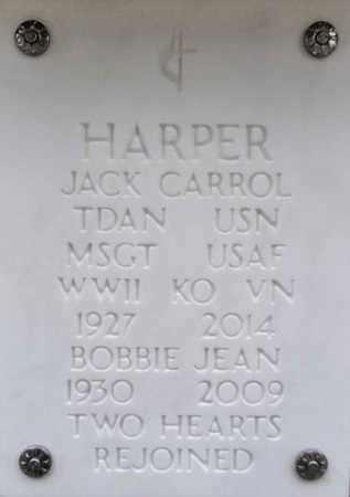 HARPER, BOBBIE JEAN - Yavapai County, Arizona | BOBBIE JEAN HARPER - Arizona Gravestone Photos