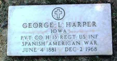 HARPER, GEORGE LAMBERT - Yavapai County, Arizona | GEORGE LAMBERT HARPER - Arizona Gravestone Photos