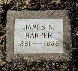 HARPER, JAMES NELSON - Yavapai County, Arizona | JAMES NELSON HARPER - Arizona Gravestone Photos