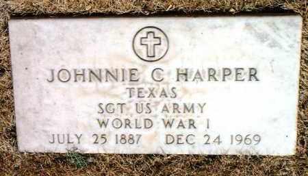 HARPER, JOHNNIE CARROLL - Yavapai County, Arizona | JOHNNIE CARROLL HARPER - Arizona Gravestone Photos