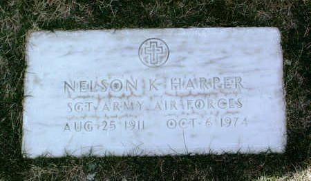 HARPER, NELSON K. - Yavapai County, Arizona | NELSON K. HARPER - Arizona Gravestone Photos