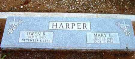 HARPER, MARY ESTELLINE - Yavapai County, Arizona | MARY ESTELLINE HARPER - Arizona Gravestone Photos