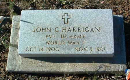 HARRIGAN, JOHN CHARLES - Yavapai County, Arizona | JOHN CHARLES HARRIGAN - Arizona Gravestone Photos