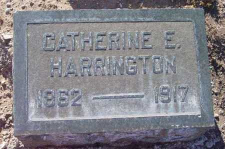 HARRINGTON, CATHERINE E. - Yavapai County, Arizona | CATHERINE E. HARRINGTON - Arizona Gravestone Photos