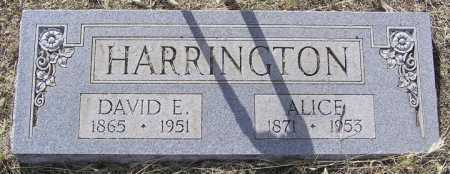 HARRELL HARRINGTON, ALICE H. - Yavapai County, Arizona | ALICE H. HARRELL HARRINGTON - Arizona Gravestone Photos