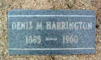 HARRINGTON, DENIS M. - Yavapai County, Arizona | DENIS M. HARRINGTON - Arizona Gravestone Photos