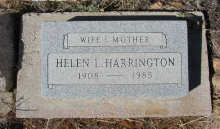 HARRINGTON, HELEN L. - Yavapai County, Arizona | HELEN L. HARRINGTON - Arizona Gravestone Photos