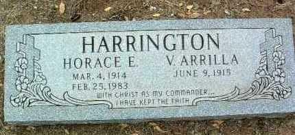 HARRINGTON, V. ARRILLA - Yavapai County, Arizona | V. ARRILLA HARRINGTON - Arizona Gravestone Photos