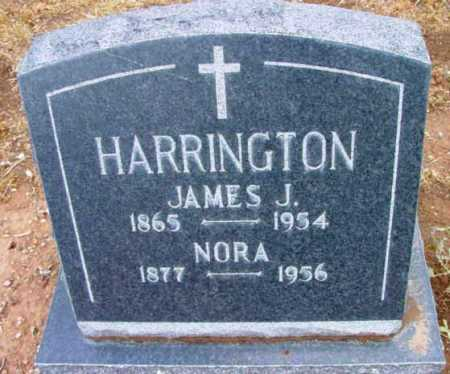 HARRINGTON, NORA M. - Yavapai County, Arizona | NORA M. HARRINGTON - Arizona Gravestone Photos