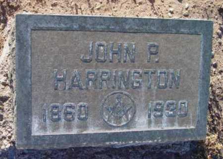 HARRINGTON, JOHN P. - Yavapai County, Arizona   JOHN P. HARRINGTON - Arizona Gravestone Photos
