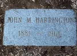 HARRINGTON, JOHN MICHAEL - Yavapai County, Arizona | JOHN MICHAEL HARRINGTON - Arizona Gravestone Photos