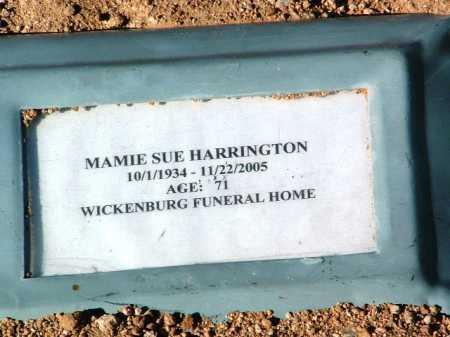 HARRINGTON, MAMIE SUE - Yavapai County, Arizona | MAMIE SUE HARRINGTON - Arizona Gravestone Photos