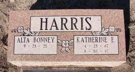 HARRIS, ALTA BONNEY - Yavapai County, Arizona | ALTA BONNEY HARRIS - Arizona Gravestone Photos
